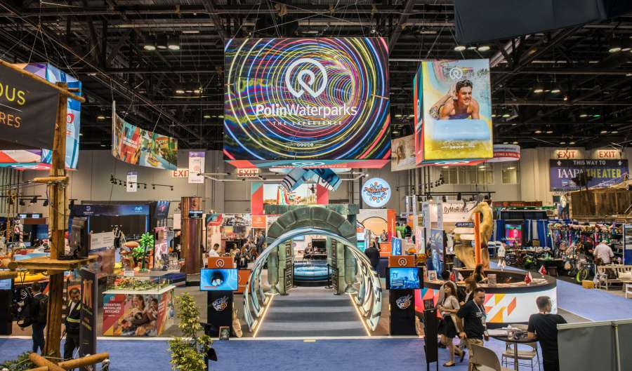 Polin makes a splash at IAAPA Attractions Expo winning 4 Brass Ring Awards