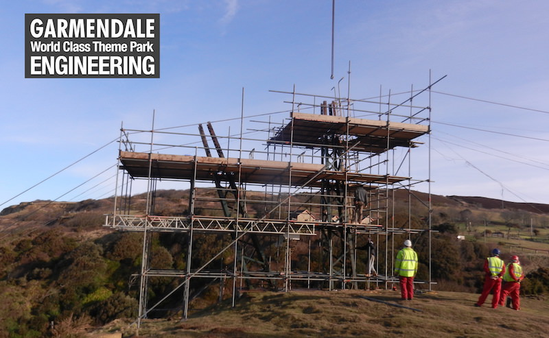 Repairs on site the Needles Chairlift