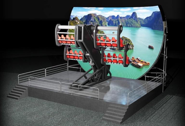 Simworx Mini Flying Theatre