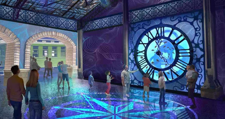 St. Louis Aquarium Entry Clock pgav destinations creative talent
