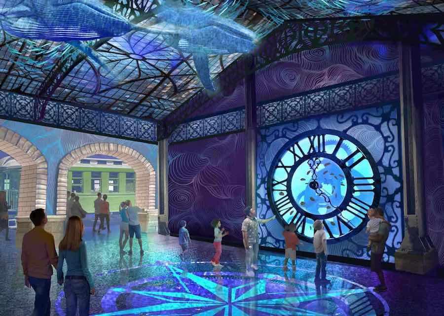 St. Louis Aquariumentry clock pgav zooceanarium