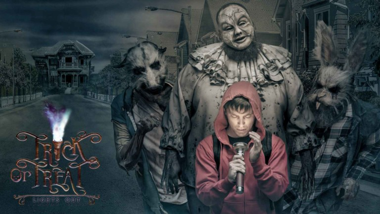 Gantom's trick torch is a treat for horror fans at Knott's Scary Farm