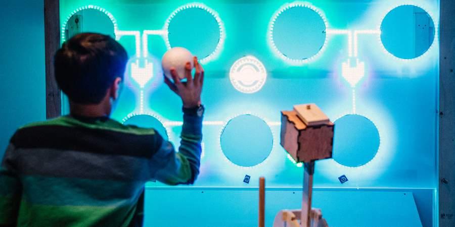 digiPlaySpace interactive exhibit extends blockbuster run at Eureka! children's museum