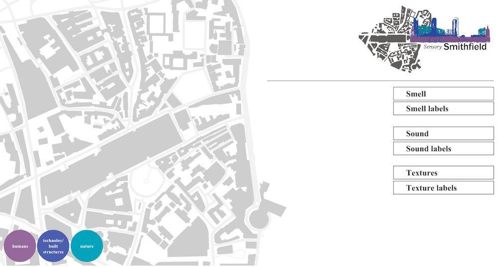 digital maps sensory smithfield market 67