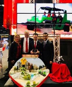 Dynamic attractions IAAPA award all-terrain vehicle