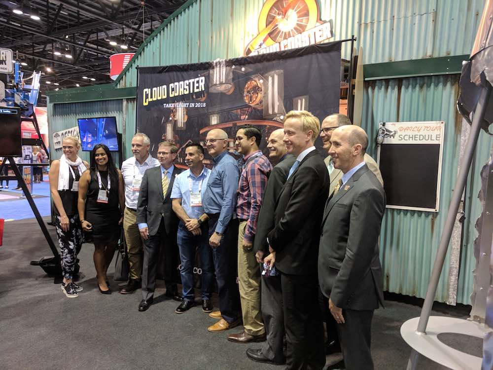 IAAPA at the Extreme Engineering booth