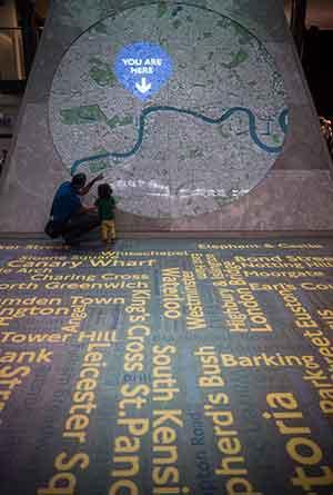 london transport museum ltm underground map