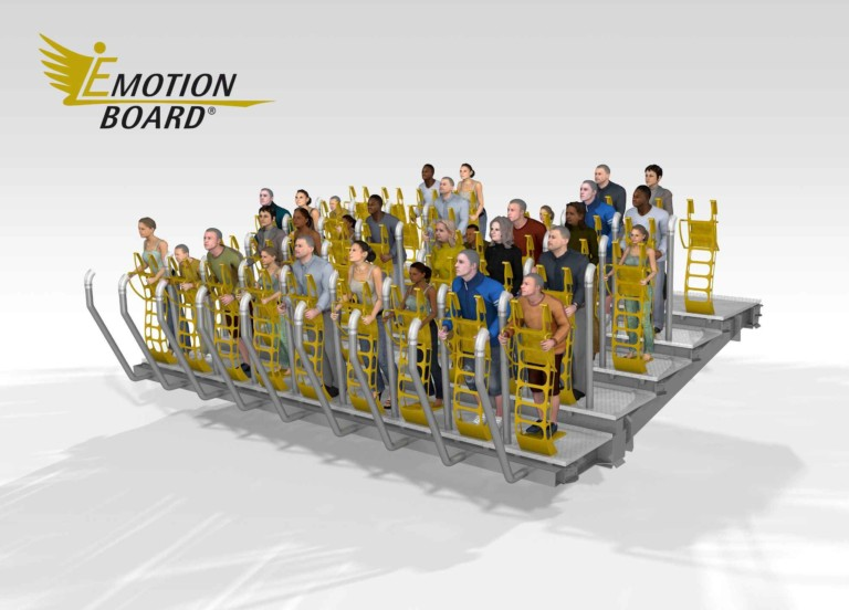 Ride Entertainment: E-Motionboard flying theatre set to debut at Six Flags Dubai