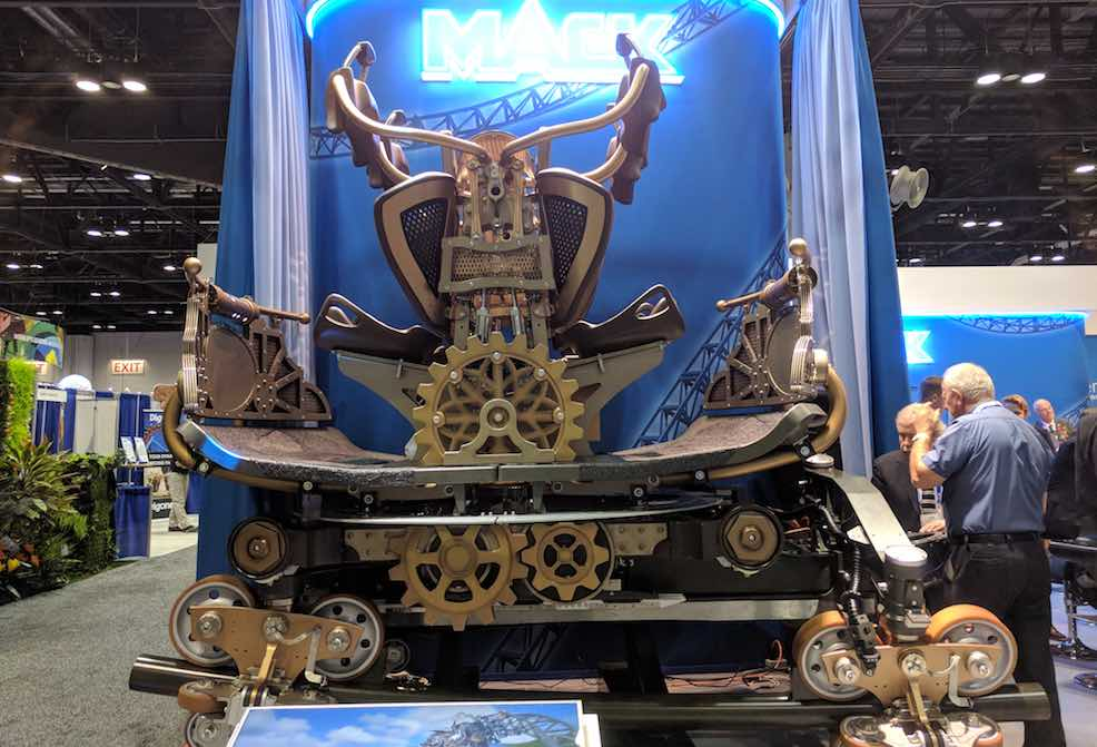steampunk time traveler ride mack rides iae17 IAAPA Attractions Expo 2017