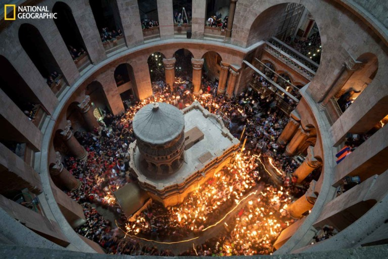 Falcon's Creative Group provides design and digital media production for National Geographic Museum's new Tomb of Christ experience