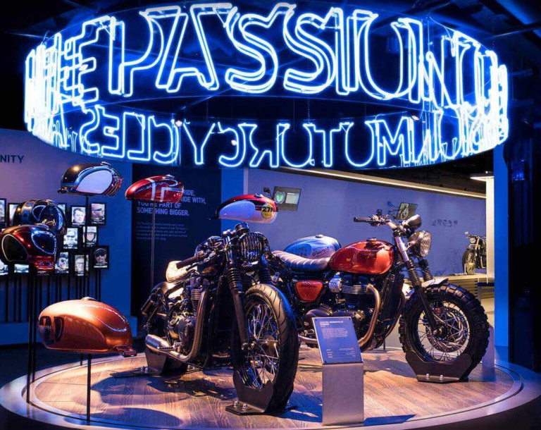 Sysco Productions delivers brand new Triumph Factory Visitor Experience