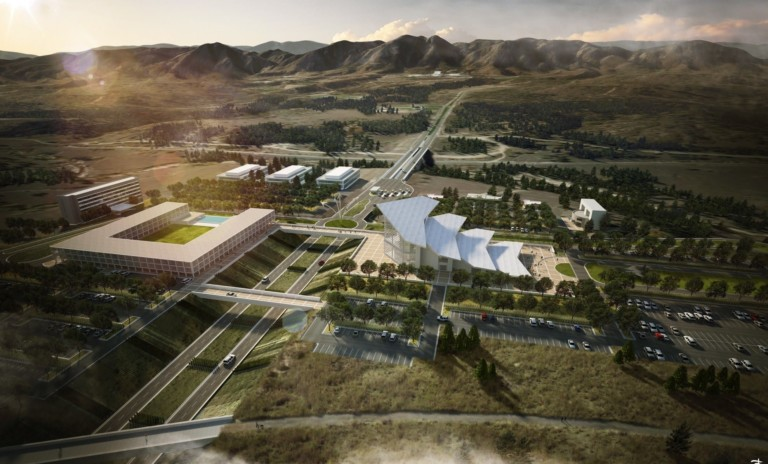 New visitor complex proposed for Air Force Academy, Colorado Springs