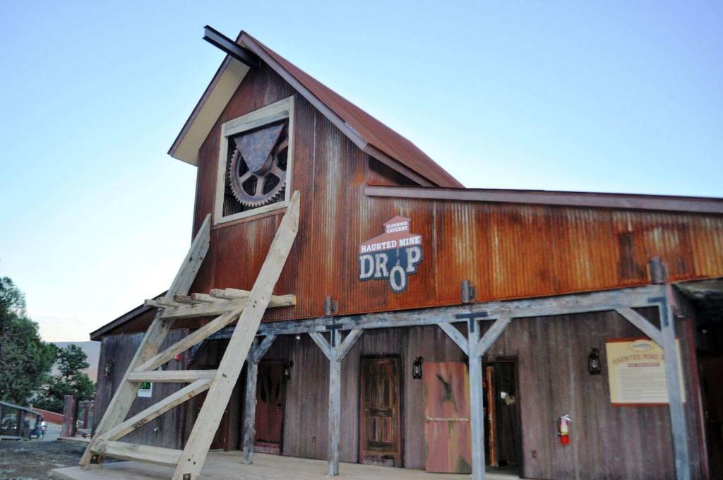 Brass Ring Awards glenwood caverns haunted mine drop entrance