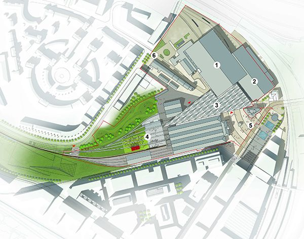 Details of the £50 million National Railway Museum redevelopment plans.