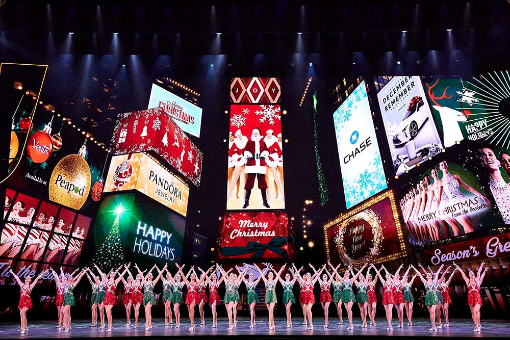 12 days close rockettes madison square garden radio city music hall obscura digital New York at Christmas spectacular