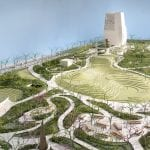 Renderings of the proposed Obama Presidential Center to be built in Chicago. Obama Foundation