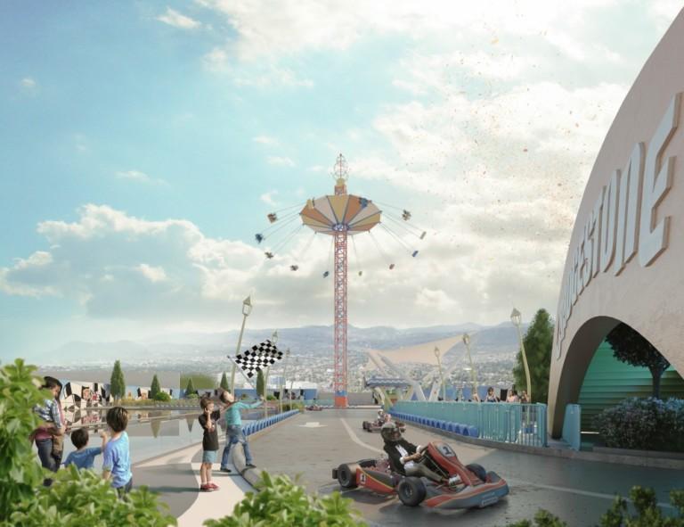 Kataplum. amusement park. Mexico City. Grupo Diniz.