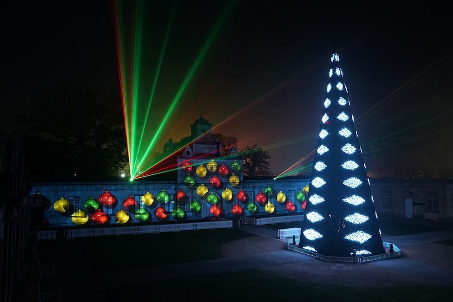 festival of lights longleat lci productions projection mapping