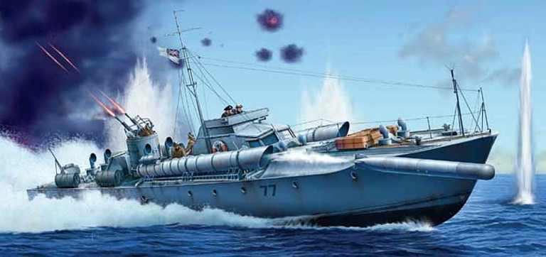 NMRN. National Museum of the Royal Navy. Coastal Forces. Royal Navy. designer.