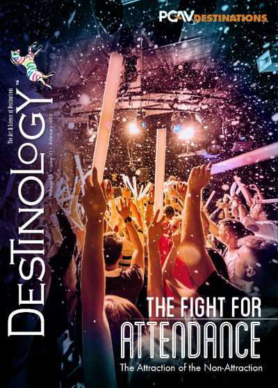 cover of destinology report by pgav - the fight for attendance