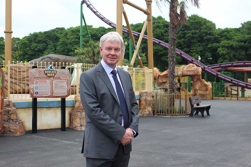 richard mancey paultons park managing director