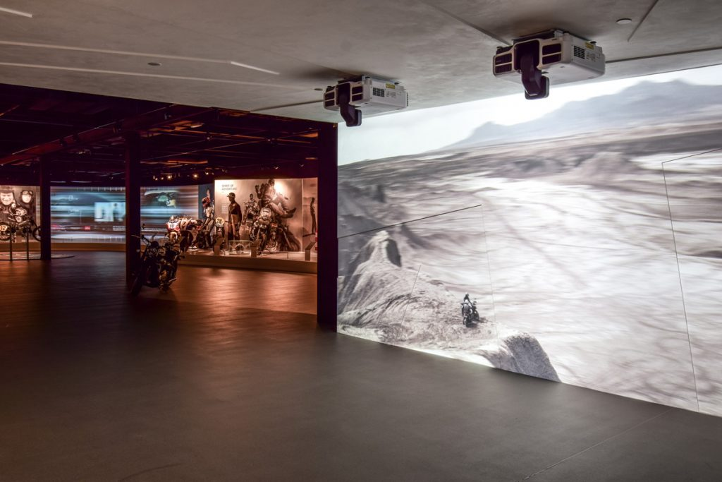 Sysco Productions AV Design & Installation at Triumph Factory Visitor Experience