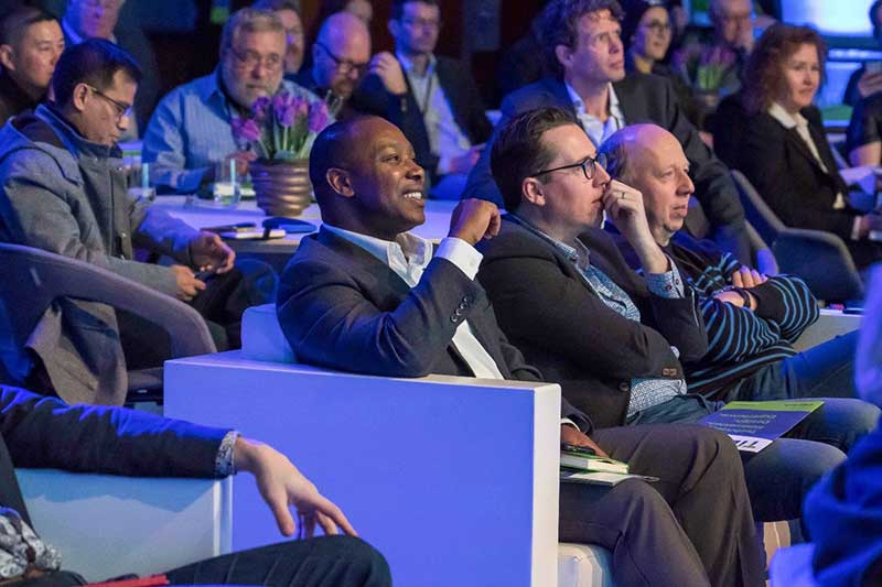 audience at TIDE Europe 2018
