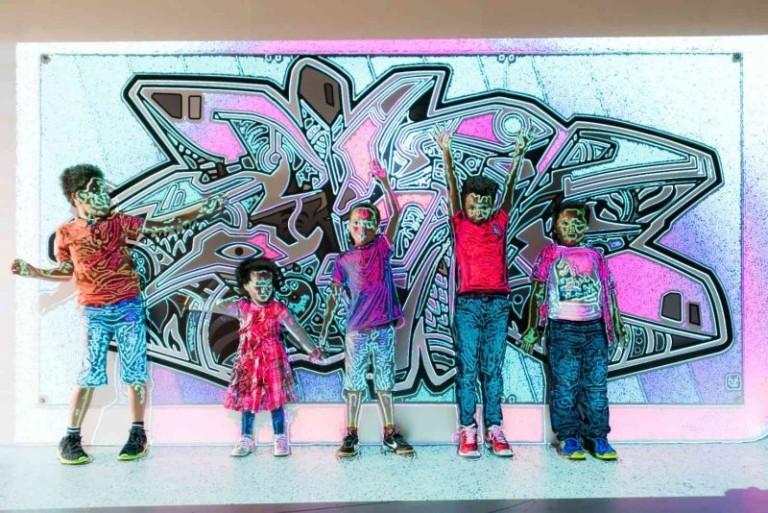 children at digiplay exhibition eureka! national children's museum