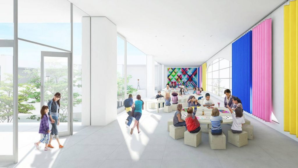 Design rendering of the transformation project for the Hammer Museum by Michael Maltzan.