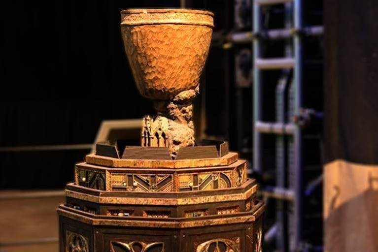 Goblet of Fire at the Making of Harry Potter at Warner Bros Studio Tour London.