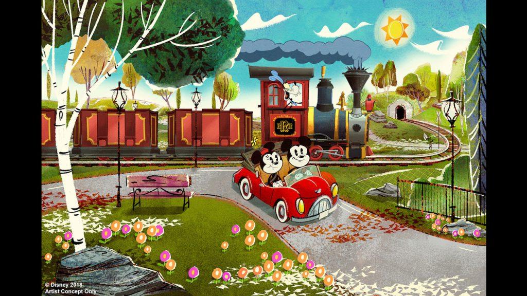 Disney, Mickey Minnie dark ride family friendly