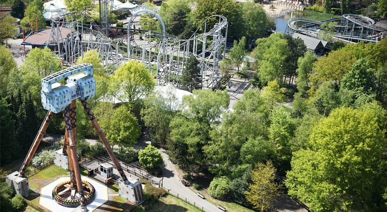 Bobbejaanland expansion with triple launch coaster