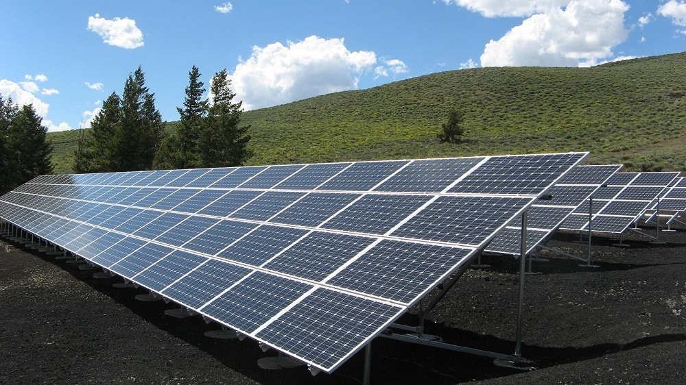 Solar panels sustainable attractions