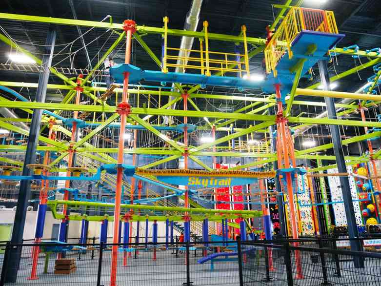 allegan event center sky trail discovery course
