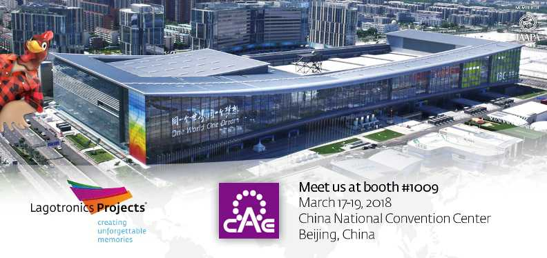 china attractions expo cae 2018 poster