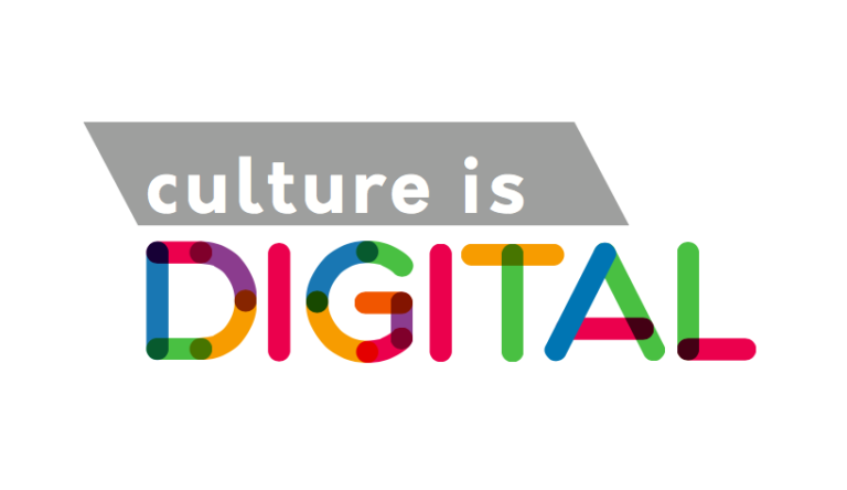 Culture is digital logo technology, arts council england