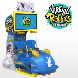 Virtual Rabbids The Big Ride VR game from LAI Games and Ubisoft