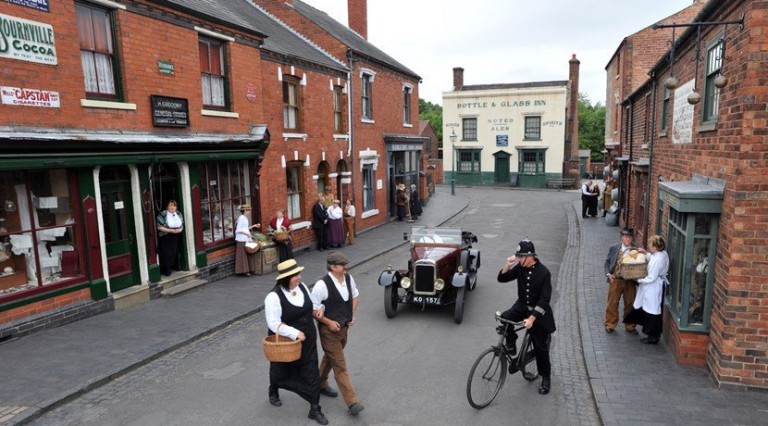 Black country living museum street view
