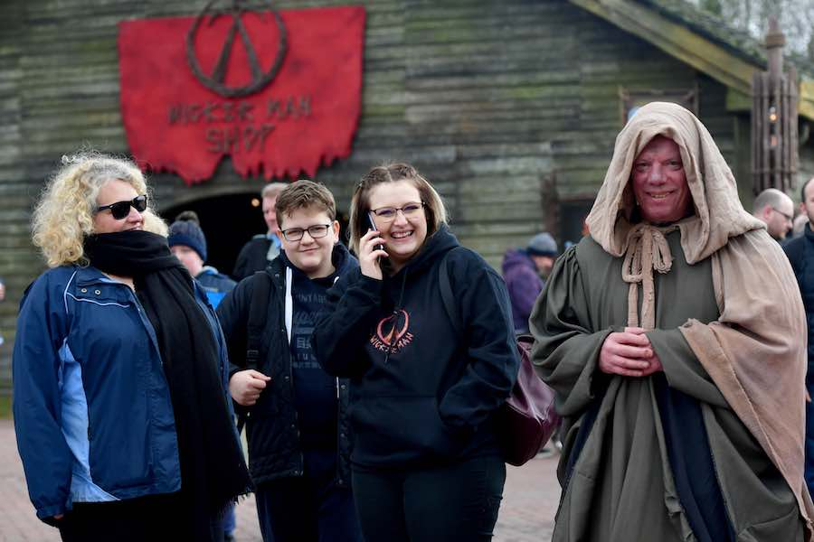 guests at wicker man alton towers resort a (1)