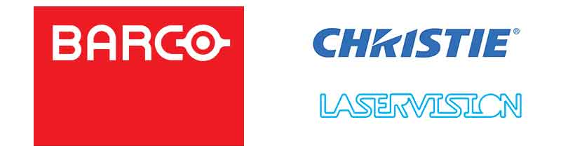 ise sponsors barco christie laserbision