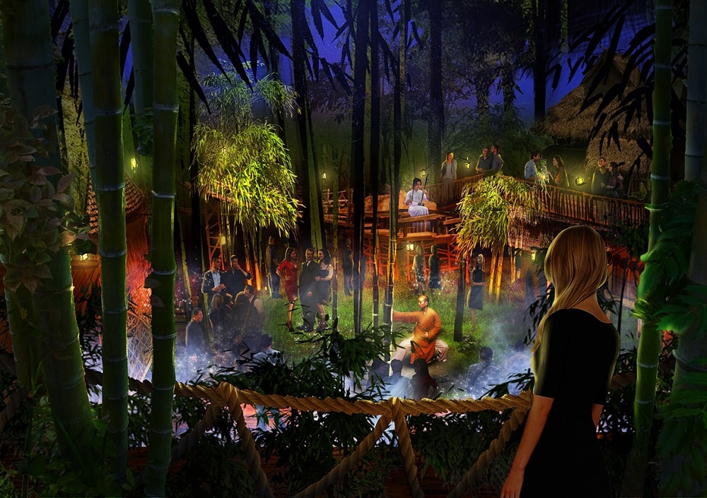 The forest level at Kind Heaven. Concept art provided by Immersive Artistry.