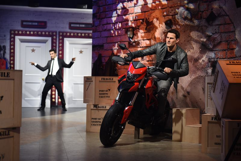 madame tussauds delhi india tom cruise merlin entertainments a