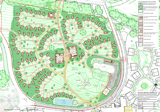 Alton Towers Enchanted Village glamping pods extension plans