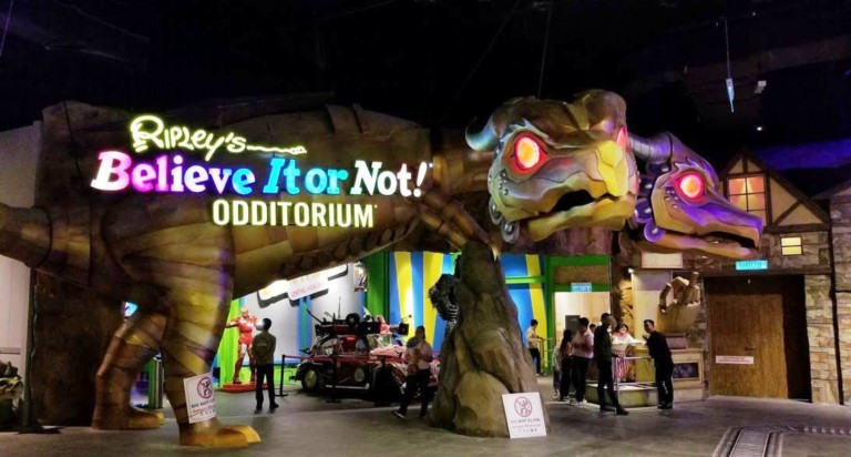 entrance to ripley's believe it or not genting highland malaysia