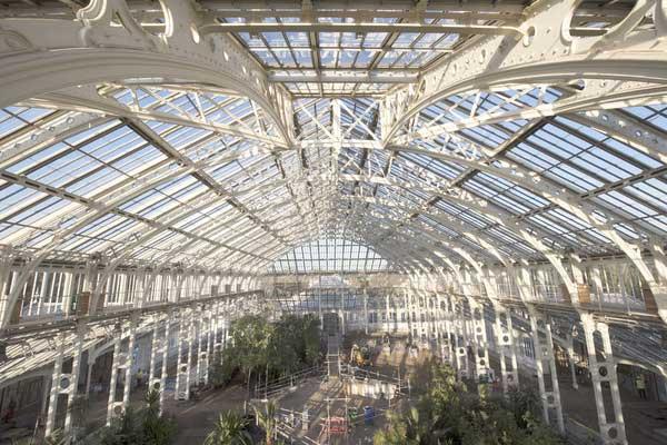 kew view gardens greenhouse