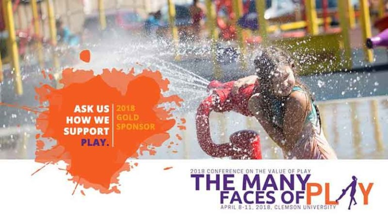 Waterplay sponsor the Many Faces of Play Conference