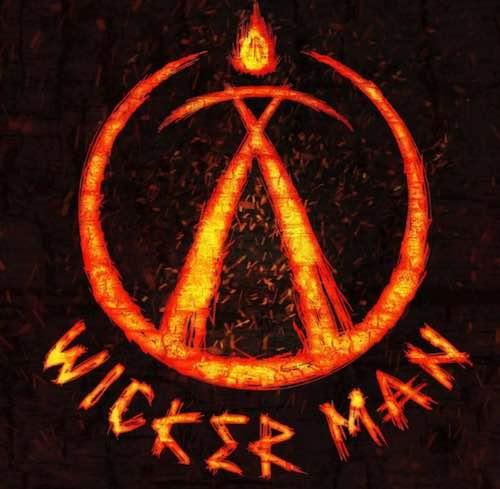 wicker man logo alton towers