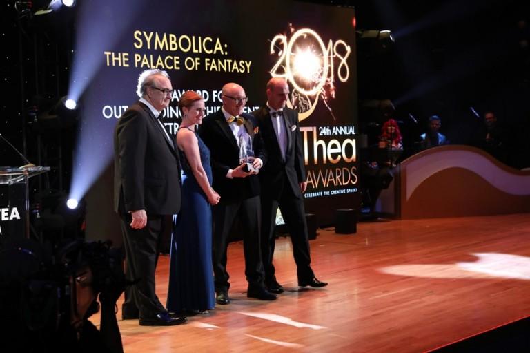 Efteling wins Themed Entertainment Assosiation TEA Thea award for Symbolica