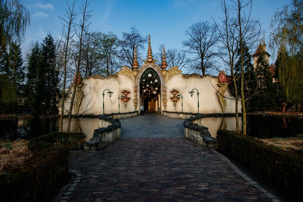 The entrance to Virtual Droomvlucht at Efteling.
