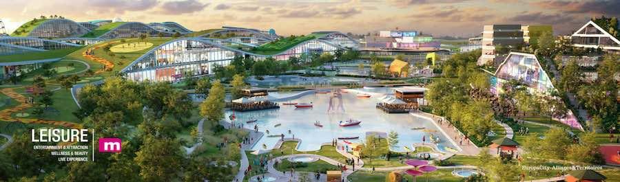 Europa City-Alliages mapic leisure entertainment